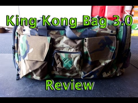 King Kong Bag 3.0 Review - Best CrossFit Fitness Duffle Gym Bags