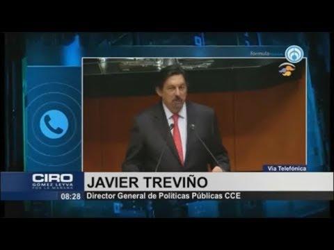 Iniciativa De Napoleón Gómez Urrutia Pone En Riesgo Aprobación Del T-MEC: Javier Treviño