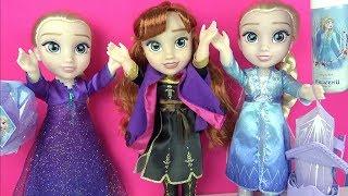 frozen 2 karlar ulkesi sarki soyleyen kralice elsa anna bebek sihirli buz puskurttu yeni oyuncaklar