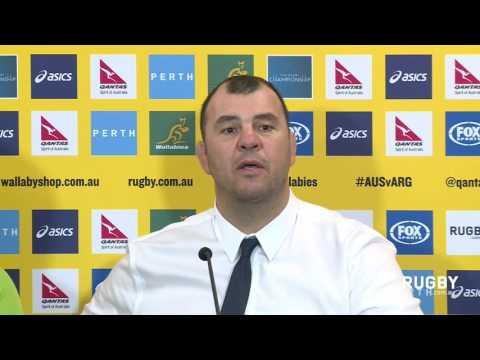 Wallabies post-match press conference