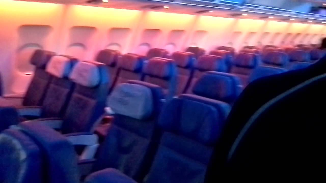 Boarding Air Transat A330 New Cabin Youtube