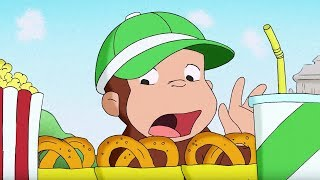 Curious George | George's Home Run | Full Episode | HD | Cartoons For Children