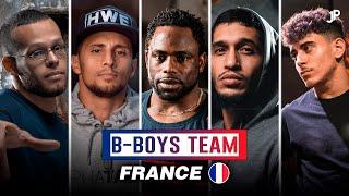 Team B-Boys France 🇫🇷 Mounir, Lilou, Khalil, Pac Pac, Junior, Brahim & Lil Kev