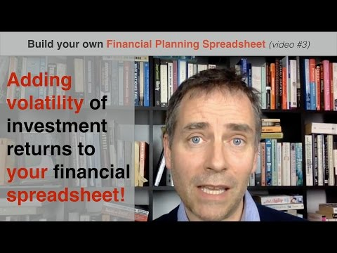 Build your own Financial Planning Spreadsheet (part 3) - adding volatility of returns