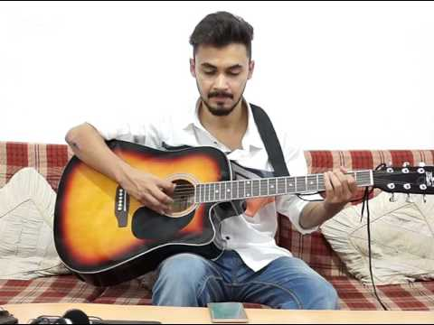 Atif aslam old hindi songs melody 🎶 (Sheeban Hussain cover) easy guitar pattern
