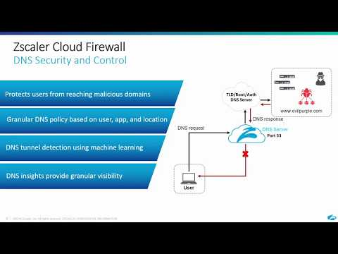 Zscaler Cloud Firewall | DNS Security and Control - YouTube
