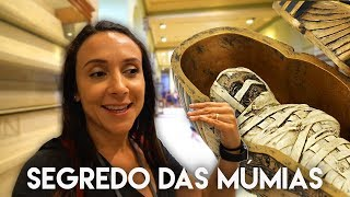connectYoutube - SEGREDO E TESOURO DAS MÚMIAS NO EGITO  | Travel and Share | Romulo e Mirella