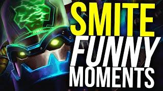 SYLVANUS PULLS OP! (Smite Funny Moments)