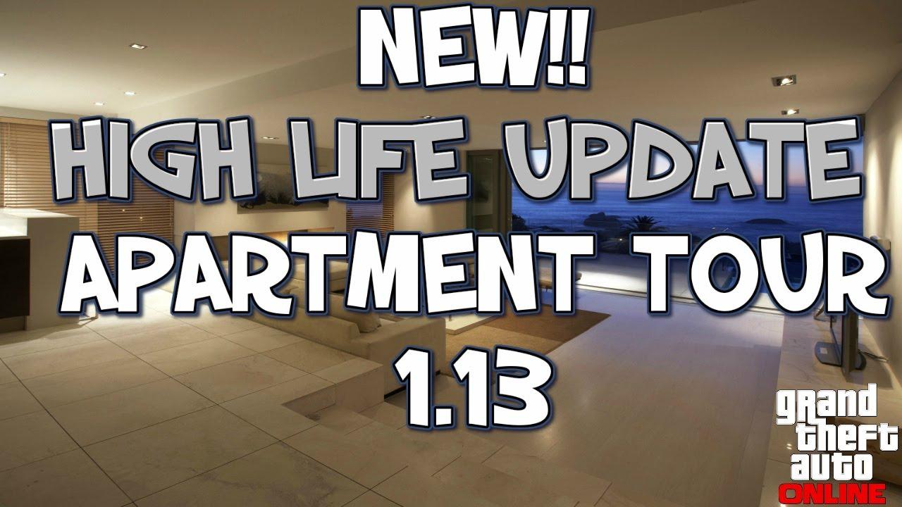 GTA 5 Online NEW Apartment Interiors! DLC Apartment! High ...