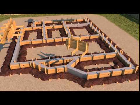 видео: Поэтапное строительство дома