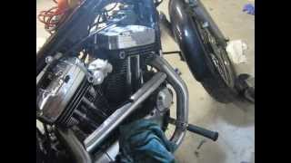 Sportster problem 25 ( ignition timing was off ( bad )