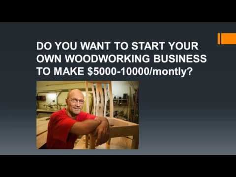 Home-based Woodworking Business ➽