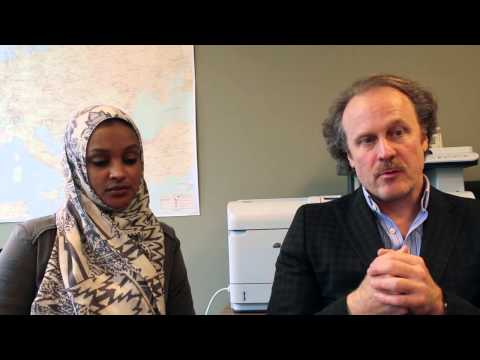 Kevin Sara & Nashwa Satti, Nur Energie, talk concentrated solar power in Africa
