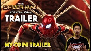 Trailer Spiderman : Far from home - My opini