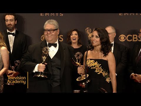 69th Emmys: Veep Press Room Interview