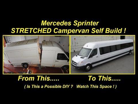 Mercedes Sprinter STRETCHED Campervan Self Build DIY Conversion - Vanlife