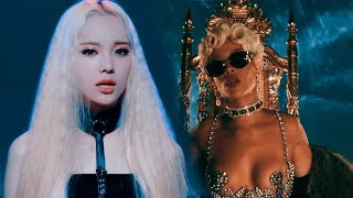 Jinsoul (LOONA) & Rihanna - Pour It Up x Singing In The Rain (mini mashup)