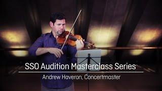 SSO Masterclass – Violin – Rachmaninoff's 'Symphonic Dances'