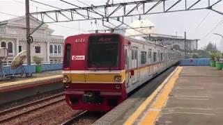 ジャカルタKRL JABODETABEK元営団6000系6121F Juanda発車