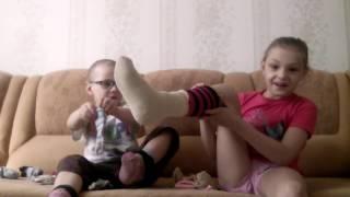 Носки челлендж 10 слоев носков