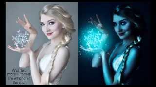 Frozen lighting effect | photoshop tutorial | photo effects