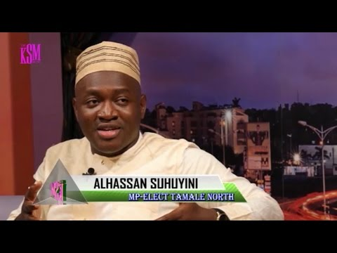 KSM Show- Alhassan Sayibu Suhuyini of NDC hangs out with KSM after the elections