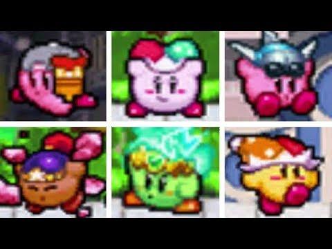 Kirby Super Star Ultra - All Copy Abilities