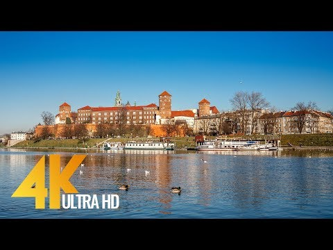 4K Cities of The World: Krakow, Poland - 30 min Video with Music