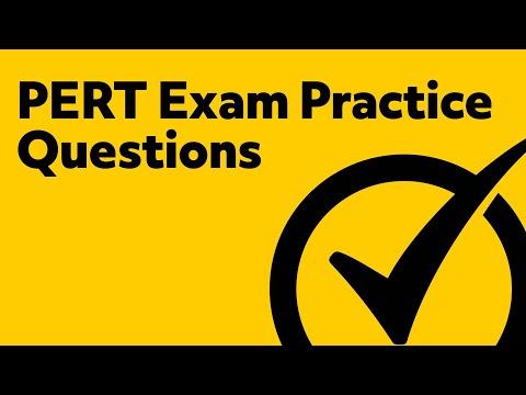 PERT Exam Practice Questions
