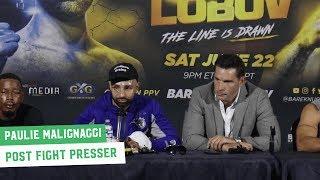 Paulie Malignaggi Post-Fight Press Conference | Bare Knuckle FC 6