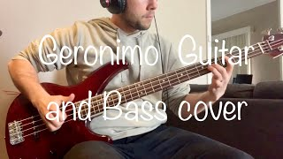 Flying Colors - Geronimo- Guitar And Bass Cover - With Janis D!!