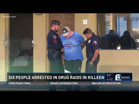 Six People Arrested In Drug Raids In Killeen