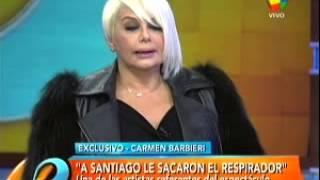 Carmen Barbieri habló del estado de salud de Santiago Bal en una charla imperdible