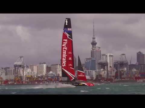 Emirates Team NZ shot with DJI Osmo+