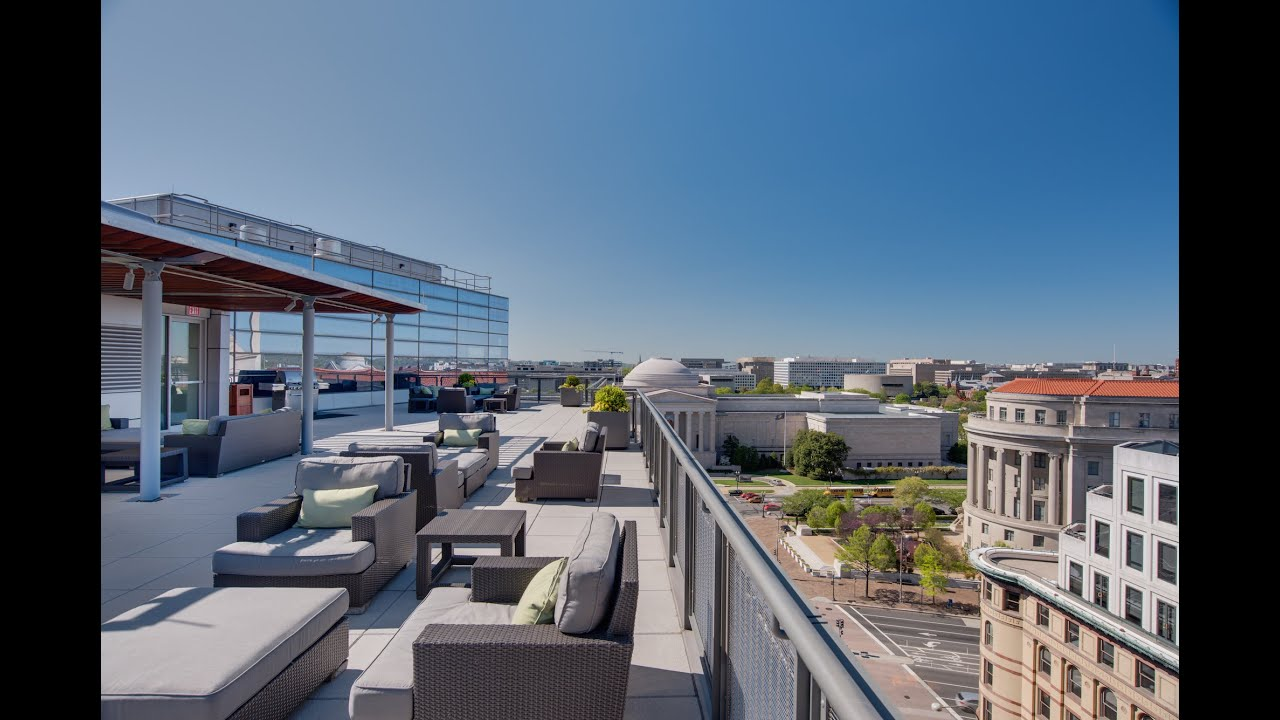 Newseum residences gopro tour rooftop freedom terrace for Watch terrace house season 2