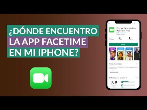 Donde Encuentro Facetime en mi iPhone