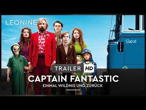 Captain Fantastic - Einmal Wildnis und zurück - Trailer (deutsch/german)