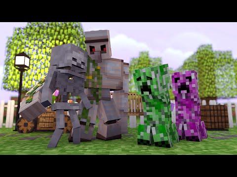 Minecraft: Vida de Creeper #01 - Amor a Primeira Vista !!
