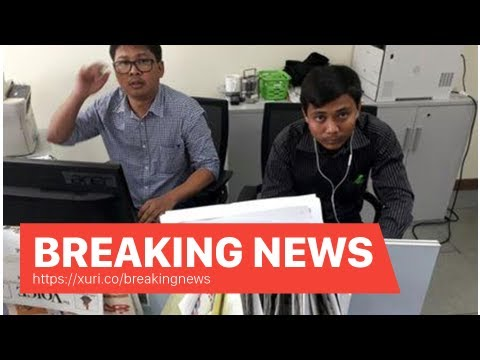 Breaking News - Friends of the Reuters reporter arrested in Myanmar poured out his heart on Soc