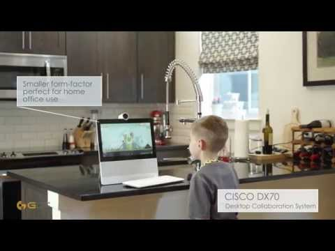 New Cisco DX80 & DX70 Collaboration Demo - GDT Tech Review