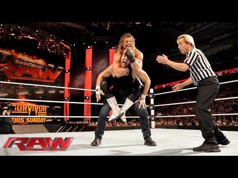 Dolph Ziggler Vs. Dean Ambrose – WWE World Heavyweight Championtitel Turnier: Raw – 16. Nov. 2015