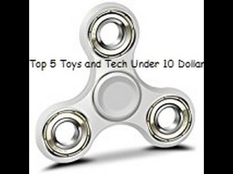 Top 5 Toys And Tech Under 10 Dollars