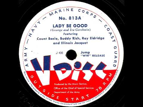 V-Disc 813 C. Basie, B. Rich, Liederkranz All Stars