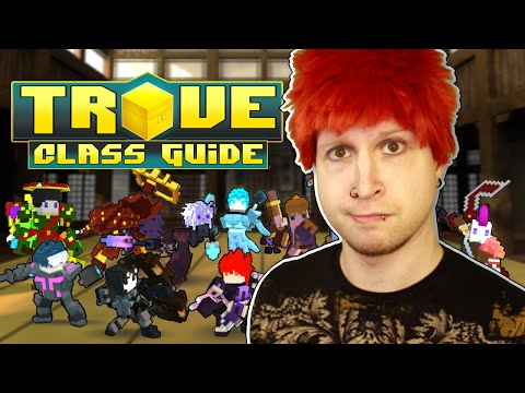 HOW TO BUILD YOUR CLASSES! ✪ Trove Class Guide & Tutorial for Mantle of Power