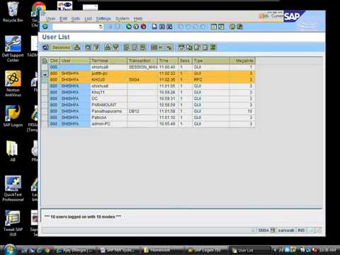 SAP BASIS TRAINING VIDEO-1