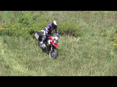 Adventure Touring - How to climb steep hills offroad