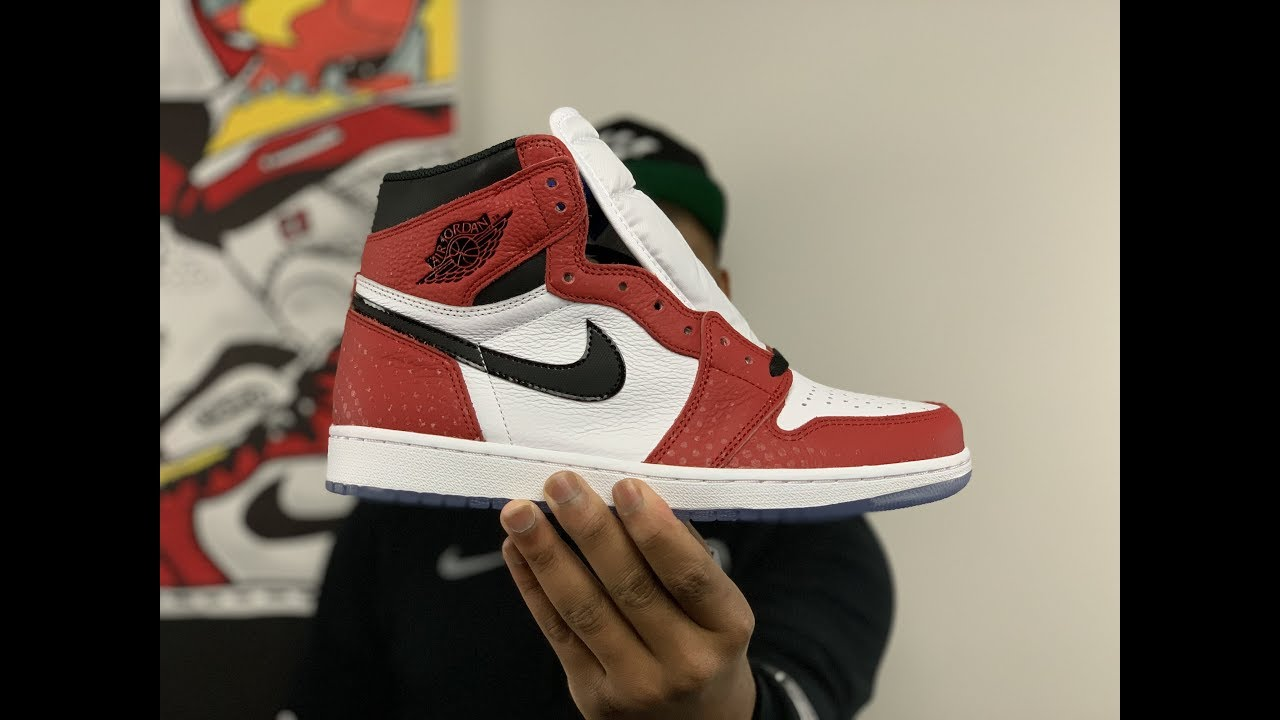 on sale 54322 51d3c  unboxing  spiderman  sneakers