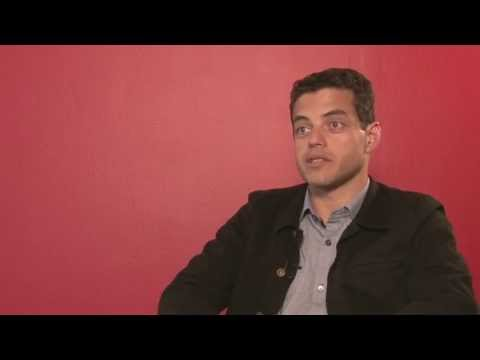 The Master: Rami Malek Exclusive Interview - YouTube