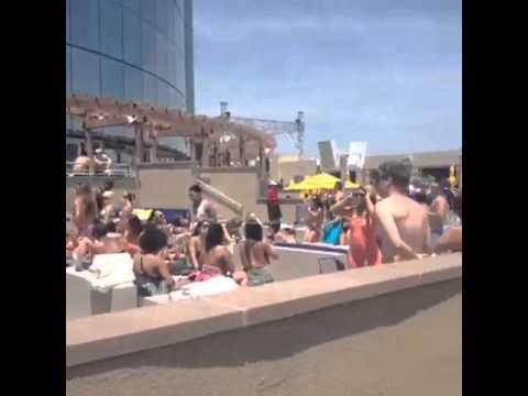 Beach club Atlantic city