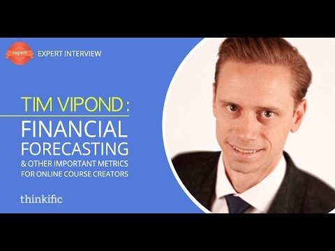 How to Forecast Financials of an Online Course Business | Interview with Tim Vipond